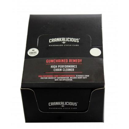 CRANKALICIOUS GUMCHAINED REMEDY KWIPE BOX (20pcs)