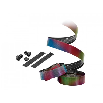 CICLOVATION BAR TAPE HALO TOUCH - NATURAL SERIES - RAINBOW